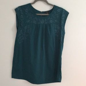 Forever 21 Teal Tunic